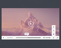 Responsive Apple Media Player UI