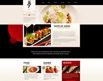 Taste of Japan – Restaurant / Food WordPress Theme