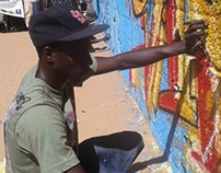 Urban arts in Senegal (part 2, Graff et Santé, 2012).