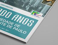 Soc. São Vicente de Paulo   Capa Revista Comemorativa