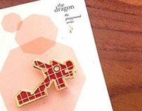 The Playground Series Brooch – The Dragon