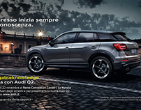 MAGROUND and the AUDI Q2 visiting Italy