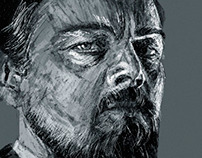 Leonardo diCaprio Scribble