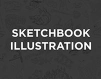 Sketchbook Illustraion Montage