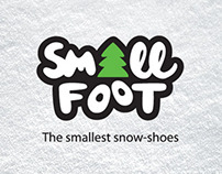 Naming & Logo Design: Small Foot Snowshoes