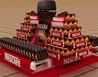 Nescafe Floor Display
