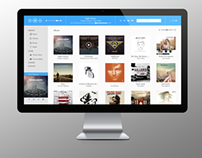iTunes Redesign Metro Style