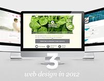 3 Web design - 2012