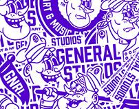 Character design General Studios.