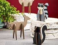 WoodlandCreatures™ decorations