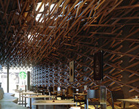 Starbucks by Kengo Kuma | Interior