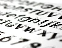 Tipografia BLUEPRINT