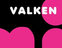 Valken Typeface