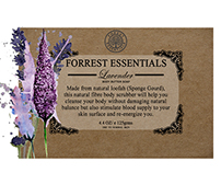 PACKAGING GRAPHICS DESIGN | FORREST ESSENTIALS | SOAP