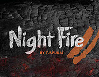 Night Fire By Tjapukai - Logo Development
