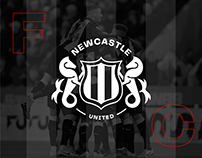 Newcastle United FC - Identity and UI Redesign