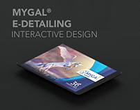 Mygal® E-detailing design & animation
