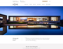 HOME SPACE Web design