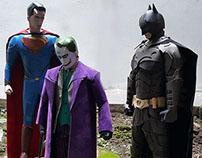 Batman vs Superman - Papertoy Photography