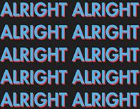 Hey Ya - Outkast. Typography