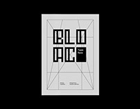 Bloac Typeface