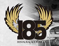 185 Restauração de Avião | Web site