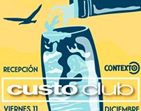 CUSTO CLUB POSTER