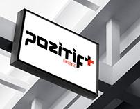 Revision brand logo design - Pozitif Universe