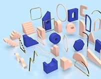 Assembly 3D • Geometric Models Set