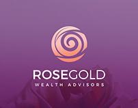 Rose Gold Logo Design
