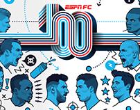 ESPN FC 100 list