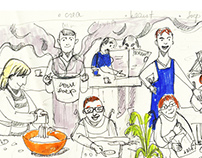 FB Cover Illustration for The Adult Day Center