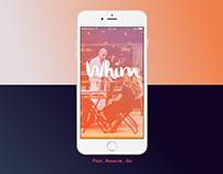 Whim - iOS app
