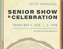 PCA&D Senior Show & Celebration Concept