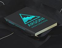 Arsoni logo concept