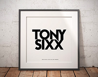 TONY SIXX Logo | AM-98 Designers |