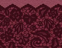 Border lace pattern
