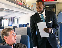 #AMTRAK #Railroaders; The Crew of Train 98