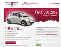 Capital Chrysler Fiat Mini Site