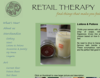Retail Therapy Website