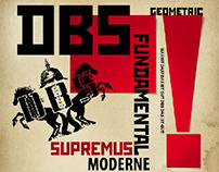 DBS «SUPREMATISMUS» Album design