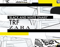 'Black & White Snake' TRF collection