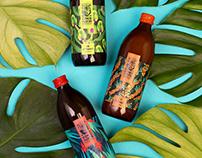 Packaging design for Sokologia juice