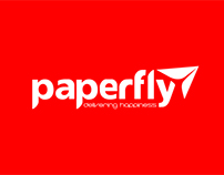 logo for Paperfly ltd.