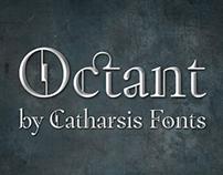 Octant — a steampunk serif font