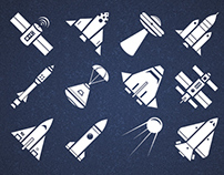 Spaceship Icons