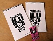Calendario Ilusos 2013