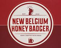 New Belgium Honey Badger
