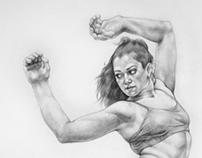 Dance drawings 2013