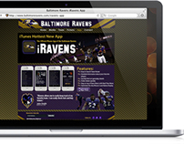 Baltimore Ravens iRavens Smartphone App